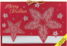 Stars Come Out Laser Cut Christmas Cards